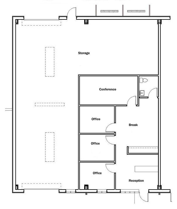 8000 square foot house plans 4000 sq ft office plan